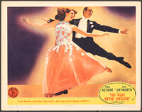 """You Were Never Lovelier (Columbia, 1942). Very Fine+. Lobby Card (11"""" X 14""""). Musical"""