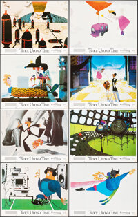 """Twice Upon a Time (Ladd Company, 1983). Very Fine-. Lobby Card Set of 8 (11"""" X 14""""). Animation. ... (Total: 8..."""