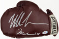 Boxing Collectibles:Autographs, Mike Tyson & Muhammad Ali Dual-Signed Everlast Boxing Glov...