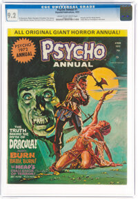 Psycho Annual #1 (Skywald, 1972) CGC NM- 9.2 Cream to off-white pages