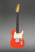 Musical Instruments:Electric Guitars, 1964 Fender Telecaster Fiesta Red Solid Body Electric Guitar, Serial #L65675.. ...