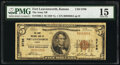 National Bank Notes:Kansas, Fort Leavenworth, KS - $5 1929 Ty. 1 The Army National Bank Ch. # 8796 PMG Choice Fine 15.. ...