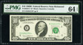 Small Size:Federal Reserve Notes, Fr. 2020-E* $10 1969B Federal Reserve Note. PMG Choice Unc...