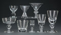 Glass, A Group One Hundred and Thirty Steuben Glassware Pieces, late 20th century. Marks to each: Steuben. 7-1/8 inches (18.1 c... (Total: 130 Items)