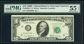 Small Size:Federal Reserve Notes, Fr. 2020-L* $10 1969B Federal Reserve Star Note. PMG About...