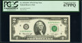 Small Size:Federal Reserve Notes, Fr. 1935-H* $2 1976 Federal Reserve Star Note. PCGS Superb Gem New 67PPQ.. ...
