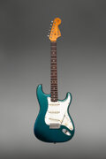 Musical Instruments:Electric Guitars, 1966 Fender Stratocaster Lake Placid Blue Solid Body Electric Guitar, Serial #133696.. ...