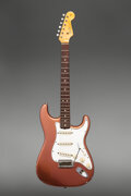 Musical Instruments:Electric Guitars, 1965 Fender Stratocaster Metallic Copper Solid Body Electric Guitar, Serial #101971.. ...