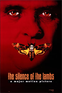 """The Silence of the Lambs (Orion, 1991). Rolled, Very Fine. One Sheet (27"""" X 40"""") DS Advance, Hannibal Lecter S..."""