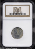 Liberty Nickels: , 1896 5C MS65 NGC. The obverse of this shimmering, frosty ...