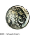 Proof Buffalo Nickels: , 1937 5C PR67 PCGS. This bright, reflective example is ...