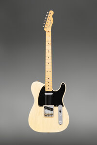 1953 Fender Telecaster Butterscotch Blonde Solid Body Electric Guitar, Serial #5066
