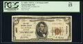 La Junta, CO - $5 1929 Ty. 1 The First National Bank Ch. # 4507 PCGS Fine 15