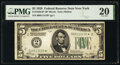 Small Size:Federal Reserve Notes, Fr. 1950-B* $5 1928 Federal Reserve Star Note. PMG Very Fine 20.. ...