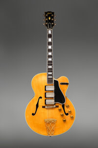 1959 Gibson Switchmaster Natural Archtop Electric Guitar, Serial #A29595