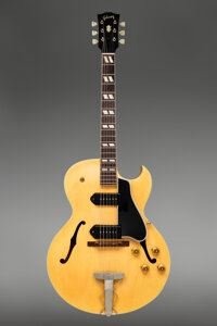 1957 Gibson ES-175 Natural Archtop Electric Guitar, Serial #A24906