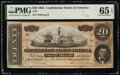 Confederate Notes:1864 Issues, T67 $20 1864 PF-14 Cr. 514 PMG Gem Uncirculated 65 EPQ.. ...