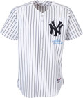Baseball Collectibles:Uniforms, 2006 Derek Jeter Game Worn & Signed New York Yankees Jersey Photo Matched to 6/10 vs. the A's & 7/15 vs. the White Sox!
