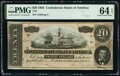 Confederate Notes:1864 Issues, T67 $20 1864. ...