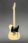 Musical Instruments:Electric Guitars, 1951 Fender Telecaster Butterscotch Blonde Solid Body Electric Guitar, Serial #0910.. ...