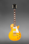 Musical Instruments:Electric Guitars, 1959 Gibson Les Paul Standard Sunburst Solid Body Electric Guitar, Serial #9 0643.. ...