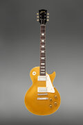 Musical Instruments:Electric Guitars, 1957 Gibson Les Paul Goldtop Solid Body Electric Guitar, Serial # 7 3948.. ...