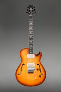 Musical Instruments:Electric Guitars, 2012 Paul Reed Smith (PRS) Schon Prototype Sunburst Semi-Hollow Body Electric Guitar, Serial #12 184423.. ...