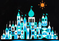 """Mary Blair """"It's a Small World"""" Concept Painting (Walt Disney, 1964/66)"""