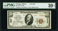 Chicago, IL - $20 1929 Ty. 2 American National Bank & Trust Company Ch. # 13216 PMG Choice Fine 15; Chicago, IL... (...
