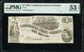 Confederate Notes:1862 Issues, T44 $1 1862 PF-5 Cr. 337 PMG About Uncirculated 53 EPQ.. ...