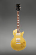 Musical Instruments:Electric Guitars, circa 1969 Gibson Les Paul Goldtop Solid Body Electric Guitar, Serial #564770.. ...