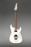 Musical Instruments:Electric Guitars, 1995 Tom Anderson White Solid Body Electric Guitar, Serial #8-10-95A.. ...