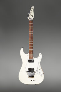 1995 Tom Anderson White Solid Body Electric Guitar, Serial #8-10-95A