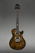 Musical Instruments:Electric Guitars, 2015 Paul Reed Smith (PRS) Schon Yellow/Black Semi-Hollow Body Electric Guitar, Serial #15 215681.. ...