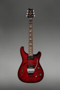 Musical Instruments:Electric Guitars, 2012 Paul Reed Smith (PRS) Neal Schon Prototype Red Semi-Hollow Body Electric Guitar, Serial #12 189646.. ...