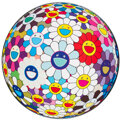 Prints & Multiples, Takashi Murakami (b. 1962). Flowerball (3-D) Sequoia Sempervirens, 2013. Offset lithograph in colors on smooth wove pape...
