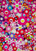 Prints & Multiples, Takashi Murakami (b. 1962). An Homage to Monopink 1960 D, 2012. Offset lithograph in colors on smooth wove paper. 29 x 2...