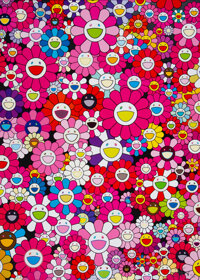 Takashi Murakami (b. 1962) An Homage to Monopink 1960 D, 2012 Offset lithograph in colors on smooth wove paper 29 x 2