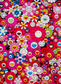 Prints & Multiples, Takashi Murakami (b. 1962). An Homage to Monopink 1960 A, 2012. Offset lithograph is colors on smooth wove paper. 29 x 2...