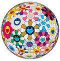 Prints & Multiples, Takashi Murakami (b. 1962). Flowerball (3-D) Autumn 2004, 2013. Offset lithograph in colors on smooth wove paper. 27-7/8...