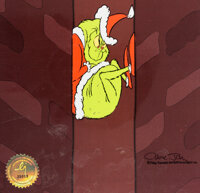 Dr. Seuss' How the Grinch Stole Christmas Grinch Production Cel (MGM, 1966)
