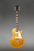 Musical Instruments:Electric Guitars, 1955 Gibson Les Paul Goldtop Solid Body Electric Guitar, Serial #513124.. ...