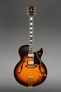 Musical Instruments:Electric Guitars, 1961 Gibson Byrdland Sunburst Archtop Electric Guitar, Serial #13045.. ...