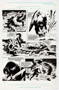 Original Comic Art:Story Page, John Buscema Conan: Death Covered in Gold #1 Page 19 Original Art (Marvel, 1999). ...