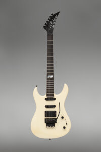 1987 Schon Prototype Pearl White Solid Body Electric Guitar
