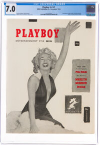 Playboy #1 (HMH Publishing, 1953) CGC FN/VF 7.0 Off-white to white pages