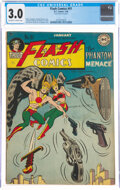 Golden Age (1938-1955):Superhero, Flash Comics #91 (DC, 1948) CGC GD/VG 3.0 Off-white to white pages....
