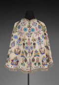 American Indian Art:Beadwork and Quillwork, A Sioux Beaded Hide Capelet c. hide, sm...