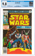 Bronze Age (1970-1979):Science Fiction, Star Wars #8 (Marvel, 1978) CGC NM/MT 9.8 White pages....