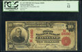 National Bank Notes:Ohio, Cleveland, OH - $10 1902 Red Seal Fr. 613 The First National Bank Ch. # (M)2690 PCGS Fine 12.. ...